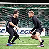 FORZA Evasion Resistance Training Belt | Soccer Agility Belt | Dual-Sport Reaction Belt | Adjustable Evasion Belt | Fitness Training Equipment - [Net World Sports]