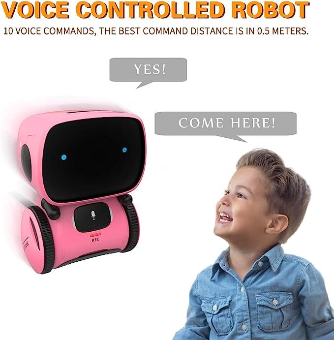 Hztyyier Kid Smart Robot Toy Children Early Education Intelligent Talking Partner e Teacher Multi Function High-Tech Bambola di apprendimento