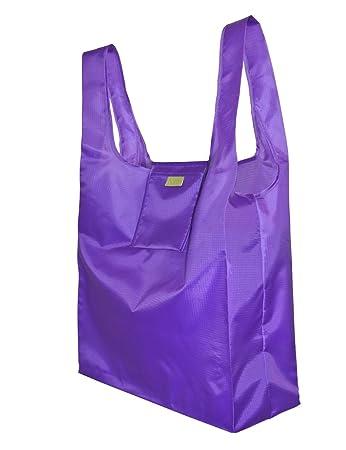 Amazon.com: Reusable Shopping Bag - Foldable Grocery Bag with ...