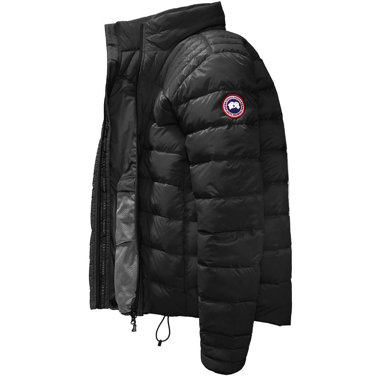(カナダグース)Canada Goose Brookvale Down Jacket メンズ ジャケットBlack/Graphite [並行輸入品] B07899LBYM  Black/Graphite 日本サイズ M (US S)