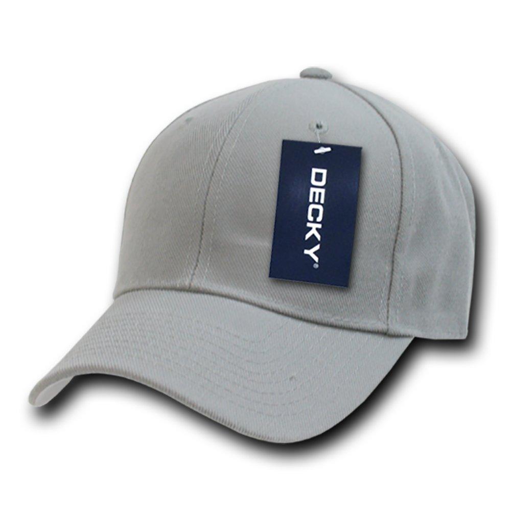 DECKY Fitted Cap, Grey, 6 3/4 by DECKY