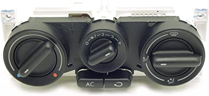 1C0 820 045 Control Unit Fresh Air and Heater Controls OEM 1C0-820-045 E 01C