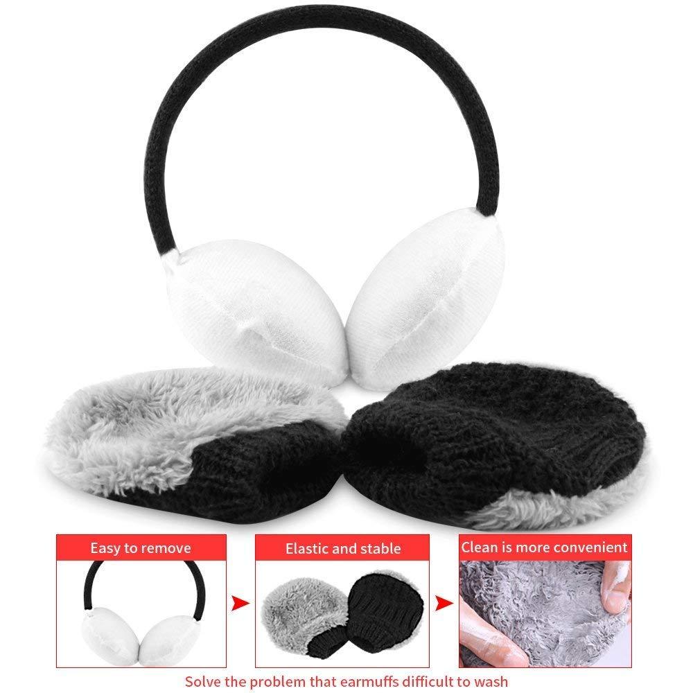 Unisex Winter Knit Earmuffs