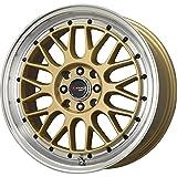 Drag Wheels DR-44 15x7/ 4x100/ 4x114.3 Gold rims