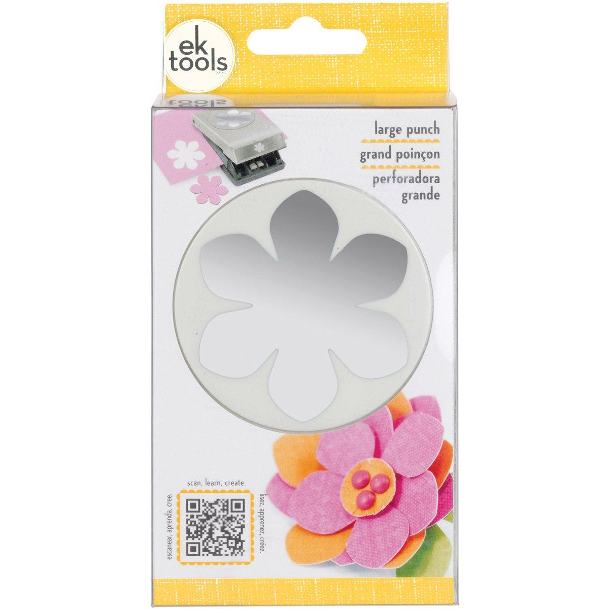 EK Tools Perforador de papel floral, grande, Gardenia