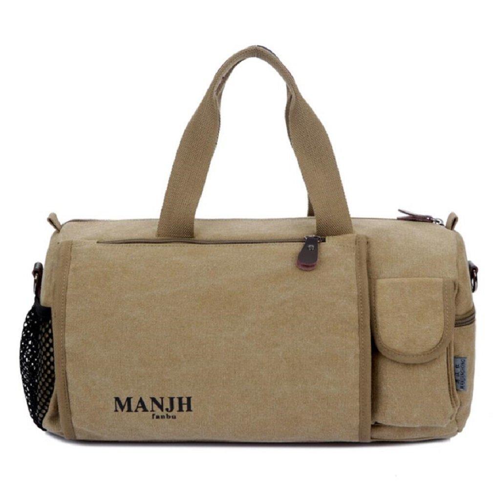 ZC&J Im Freienbeutel beiläufiger Beutelsegeltuchhandtaschen-Schulterbeutel, Qualitätssegeltuch feste Abnutzung Anti-Kratzer, einfache und praktische Bergsteigenbeutel