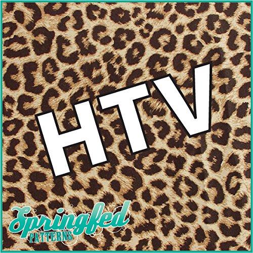 LEOPARD PRINT PATTERN #1 HTV Real Leopard Spots Heat Transfe