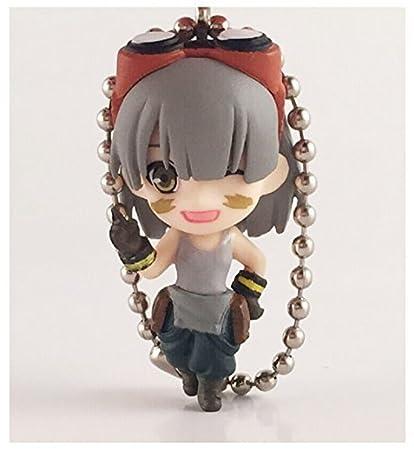 Amazon.com: God Eater Mini figura: Licca figura llavero ...
