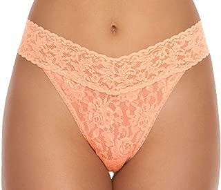 product image for hanky panky Signature Lace Original Rise Thong (4811) O/S/Nectar Orange