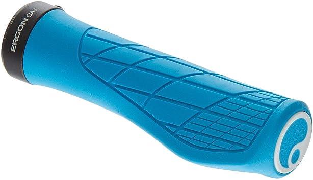 Ergon Unisex - Adultos Ga3 Puños de Bicicleta, Color Azul, tamaño Talla única, 25 x 6 x 6centimeters: Amazon.es: Deportes y aire libre