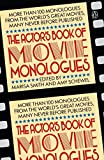 one direction baseball - The Actor's Book of Movie Monologues: More Than 100 Monologues from the World's Great Movies