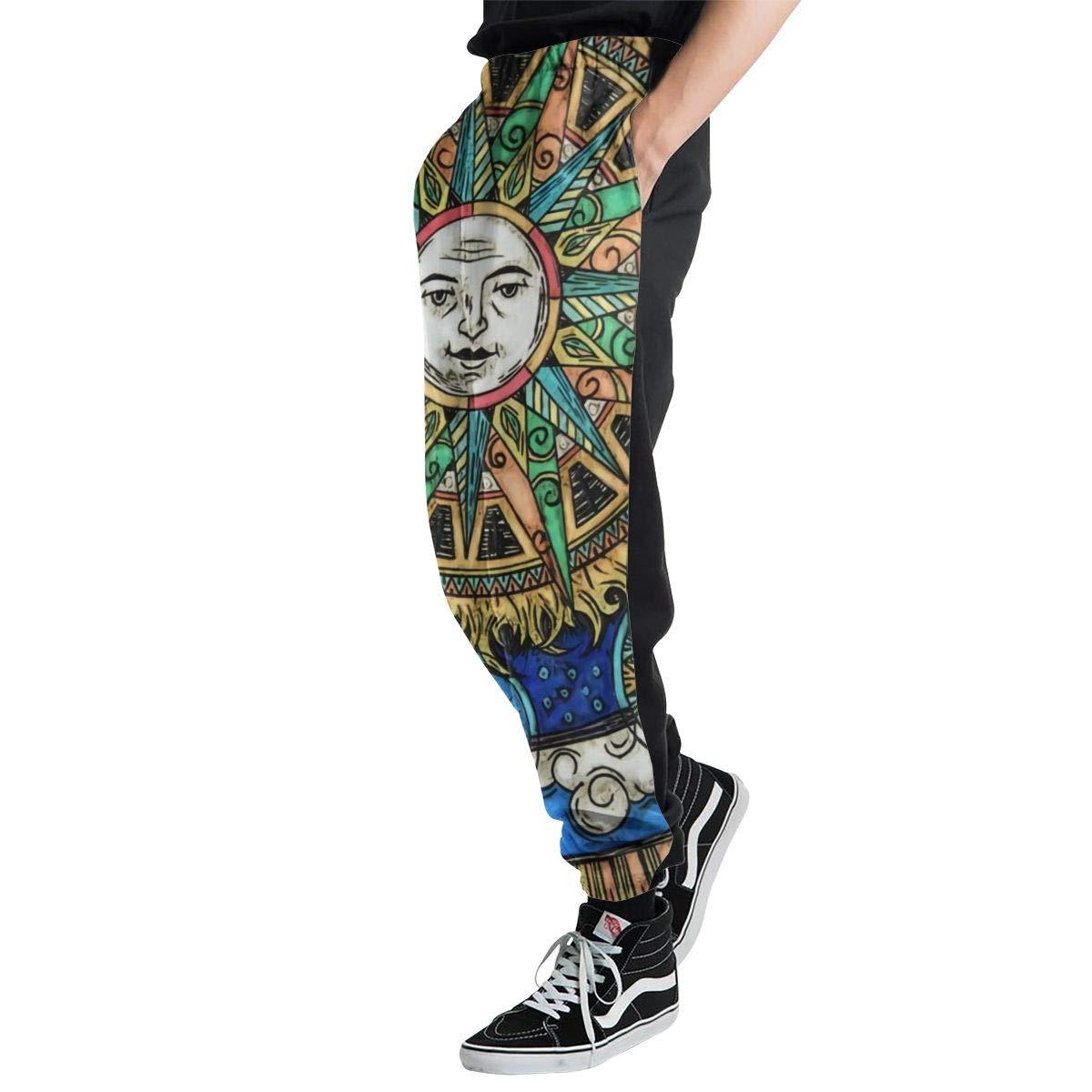 Yaitty - Pantalones de chándal para Hombre y Mujer, diseño de Sol ...
