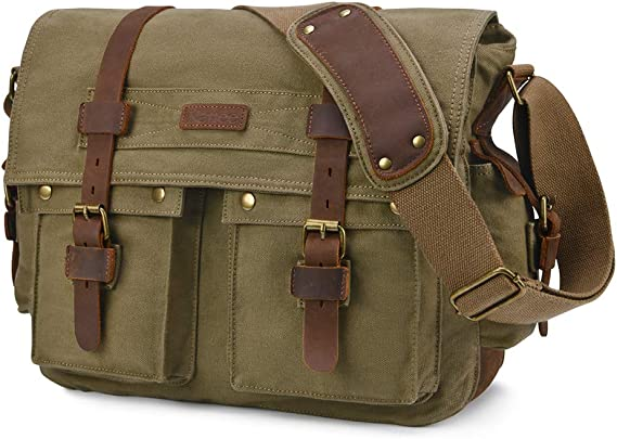 Kattee Military Messenger Bag