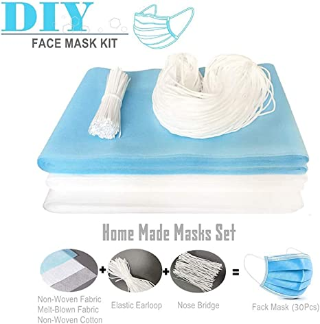 Amazon Com Fabric Interfacing For Home Made Face Masks Sewing