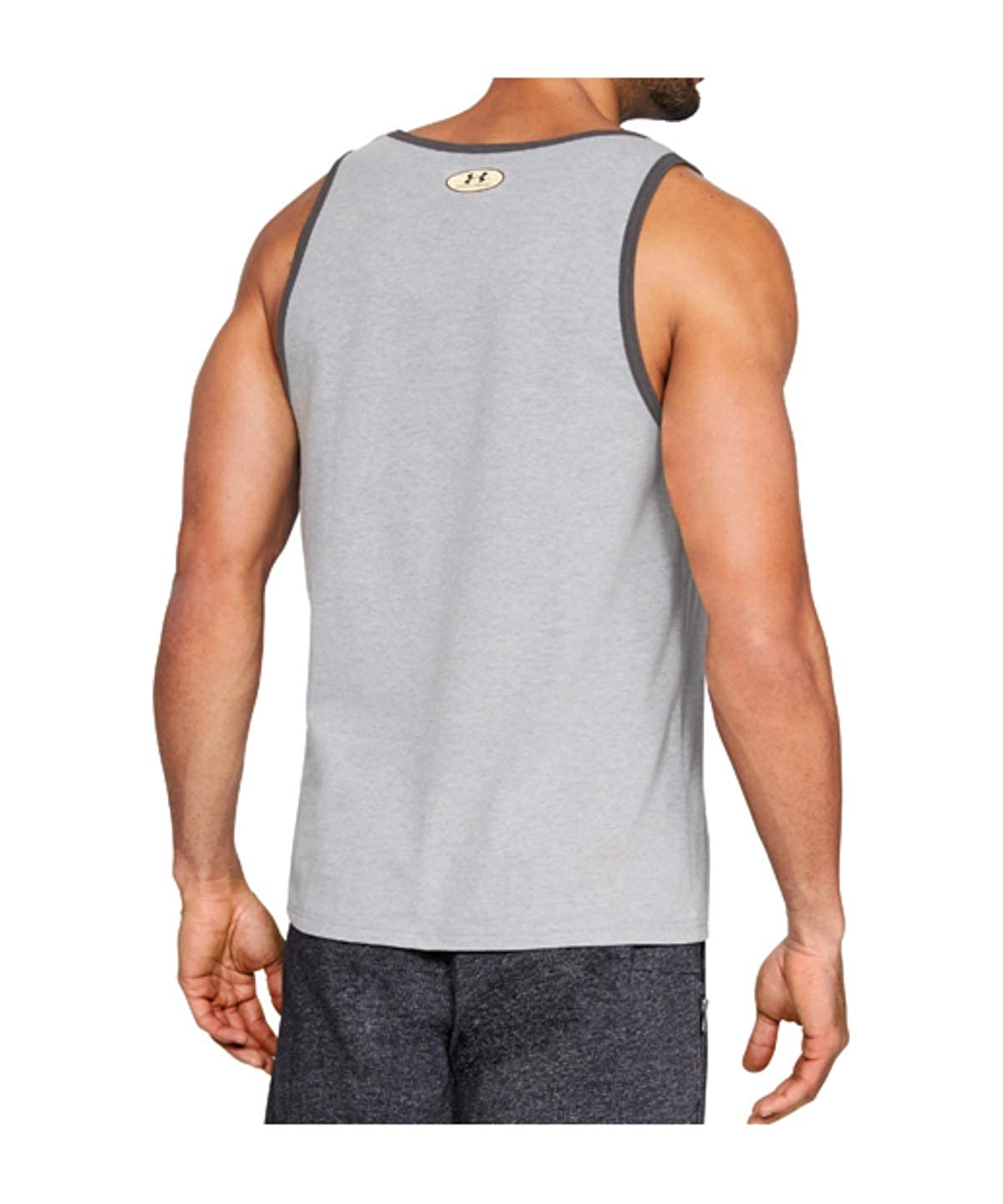 51a1713f83c23 Amazon.com  Under Armour Men s UA x Project Rock World Champ Sleeveless  Tank Top Shirt  Clothing