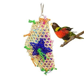 best cheap timeless design casual shoes Reefa Oiseaux Jouets,Accessoire Cage, Jouet en Bambou Pour  Perruche,Perroquet,Budgies,Cockatiel,Macaw,Calopsitte variété de Jouet pour  Oiseaux