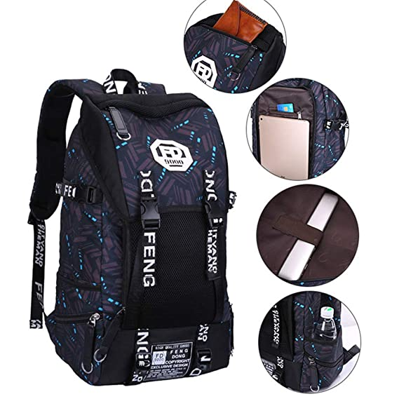 Amazon.com: Men Travel Backpacks Waterproof 15.6 Inch Laptop Bag Male Anti Theft Bagpack: Clothing