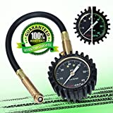 #8: Tire Pressure Gauge (0-60 psi) for Car Auto Motorcycle Truck RV ATV