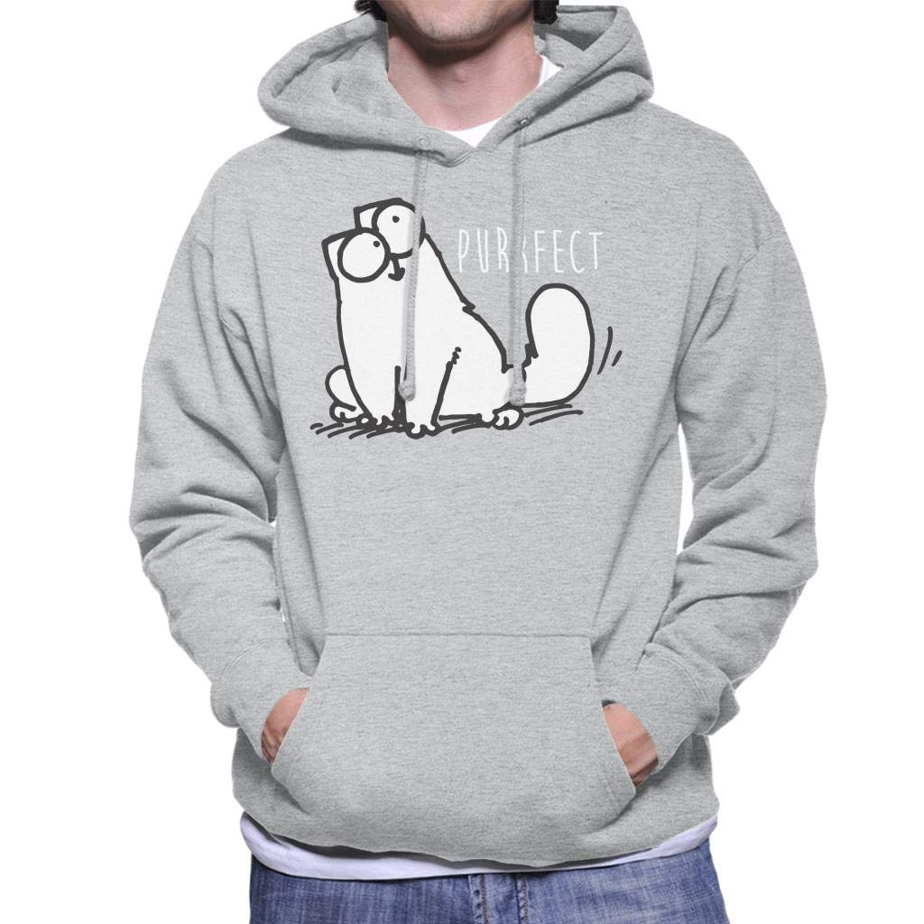 Simon's Cat Purrfect Men's Hooded Sweatshirt