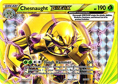 Pokemon - Chesnaught-Break (12/162) - XY -