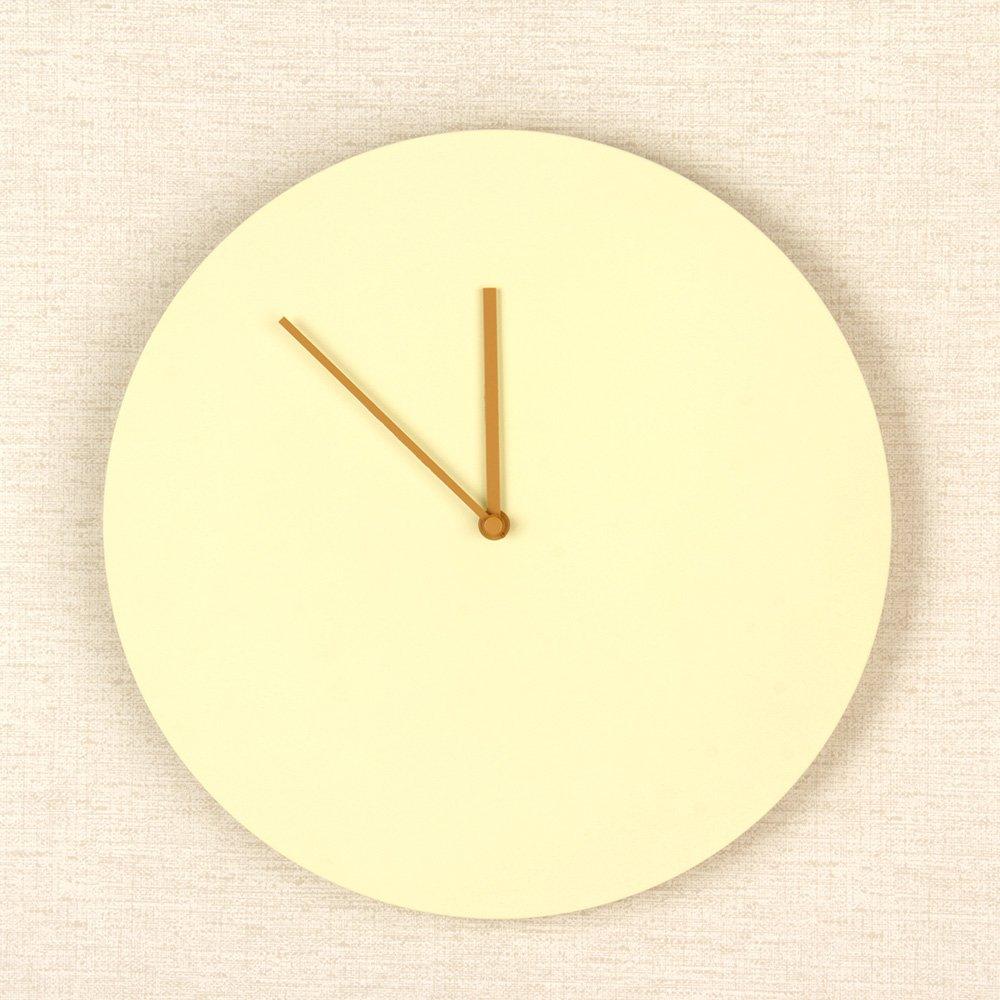MENU [ メニュー ] Steel Wall Clock スチールウォールクロック wall clock ウォールクロック イエロー 6066839 壁時計 インテリア デザイン [並行輸入品] B01CFKITY6 イエロー イエロー