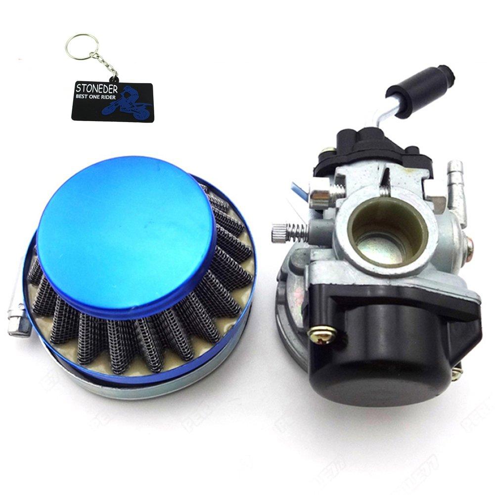 STONEDER Racing carb carburatore per 49/cc 50/cc 60/cc 66/CC 80/cc 2/tempi motorizzato Bike bicicletta