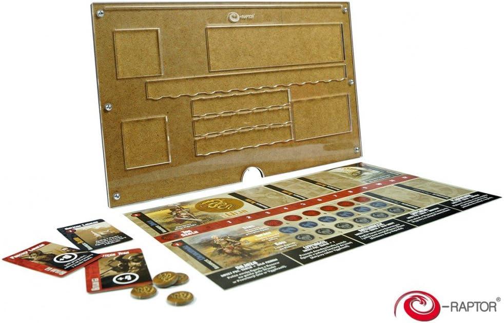 E-Raptor ERA19027 - Organizador para Juegos de Mesa: Amazon.es: Juguetes y juegos