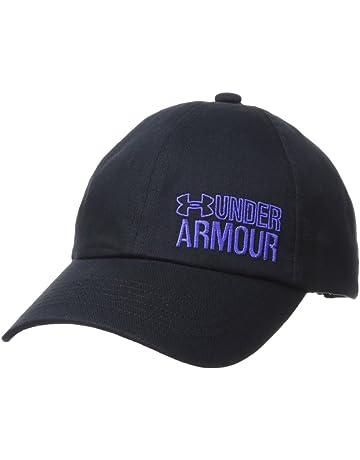 Under Armour Girls Graphic Armour Cap Gorra, Niñas, Negro (001), One