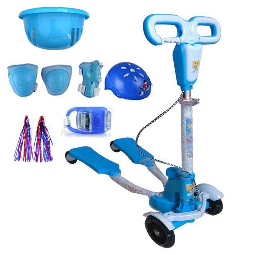 当季大流行 スクーターを蹴る子供たち 四輪スクーター、シザー車、カエル車 : B07R7HNHPQ、スイング車(310歳の子供に最適) (色 青) : 青) B07R7HNHPQ 青, Pixie:c5cde0e7 --- 4x4.lt