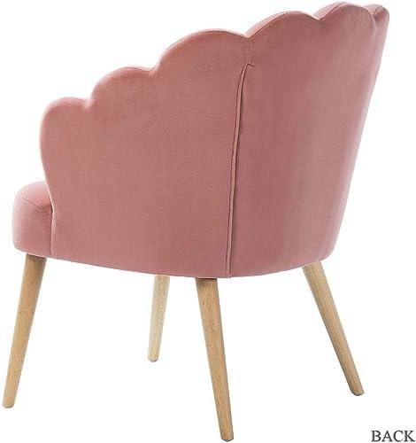 Flora Scalloped Velvet Arm Chair - the best living room chair for the money