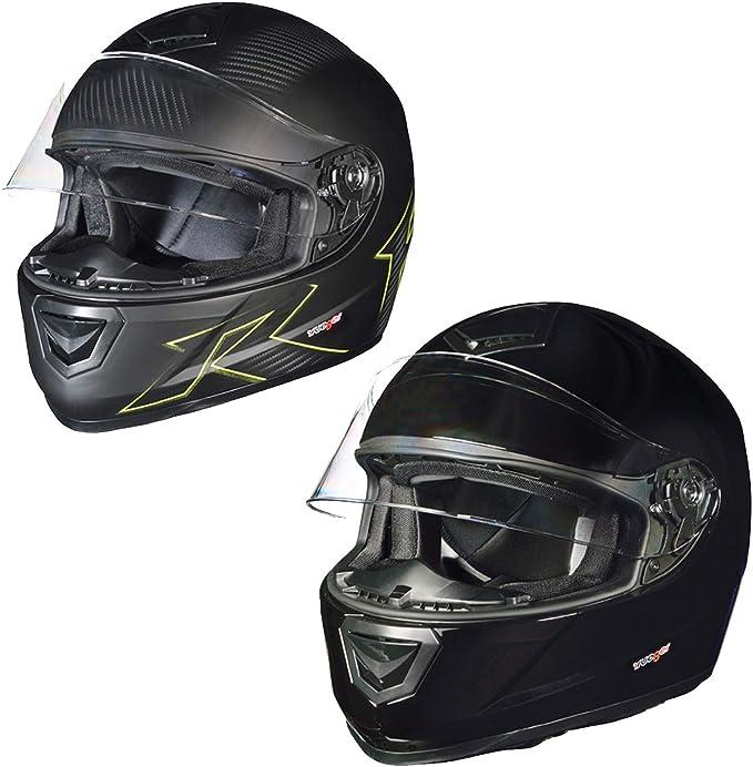 RT-823 Integralhelm Motorradhelm Integral Motorrad Roller Quad Helm rueger