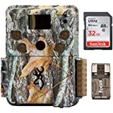 Browning STRIKE FORCE PRO Micro Trail Camera (18MP) with 32GB Memory Card & Focus Card Reader