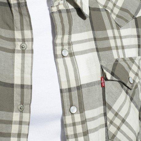 Camicia da Levi's western grigia classica uomo 0Bz0OUq