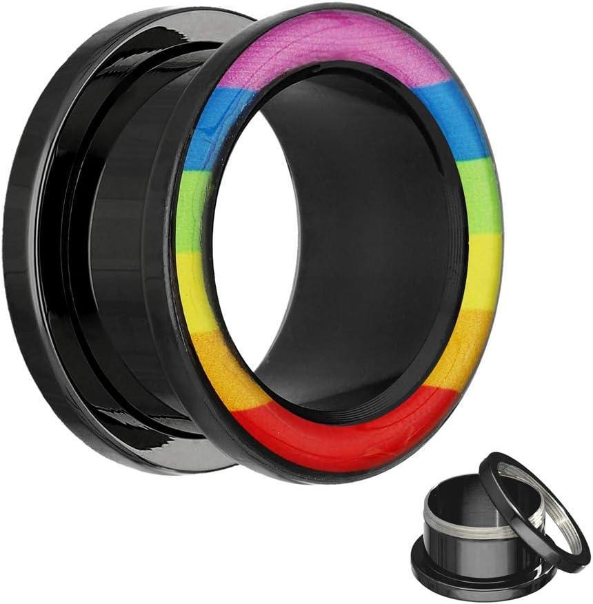 Dilatador Treuheld con diseño arcoíris, disponible en 12 tamaños ...