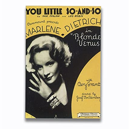 Amazon com: You Little So and So Old Music Poster Aluminum