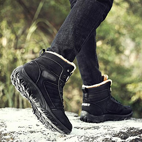 PU Keep Leisure Feifei Warm Shoes Men's Movement Material Thickening 01 Winter wqTE781x