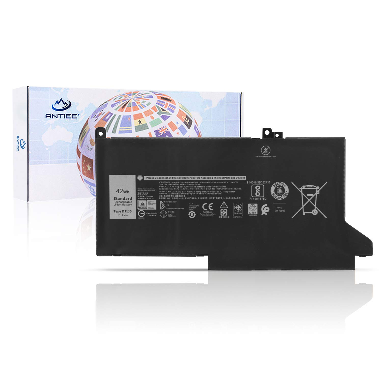 Bateria Dj1j0 Para Dell Latitude 7280 7480 Series 451-bbzl Pgfx4 Onfoh Dj1jo 11.4v 3500mah 42wh 3- Celdas