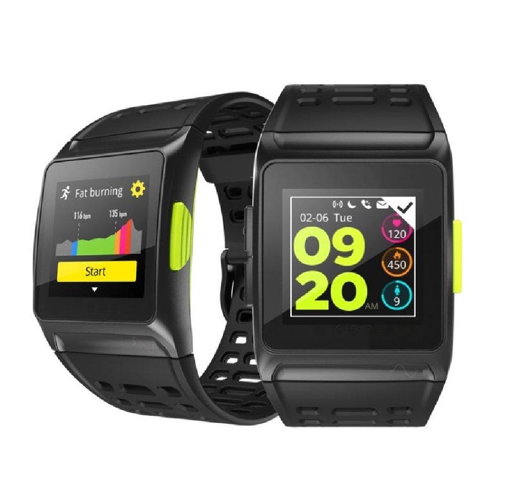 BISOZER BR1 GPS SPORTS Watch Smart Watch IP67 Waterproof Color Screen Multisport Wristwatch Men Women Fitness Watch Smartwatch