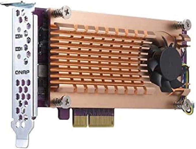 Qnap Qm2 2p 344 2 Slot Pcie Gen 3 Network Expansion Computers Accessories