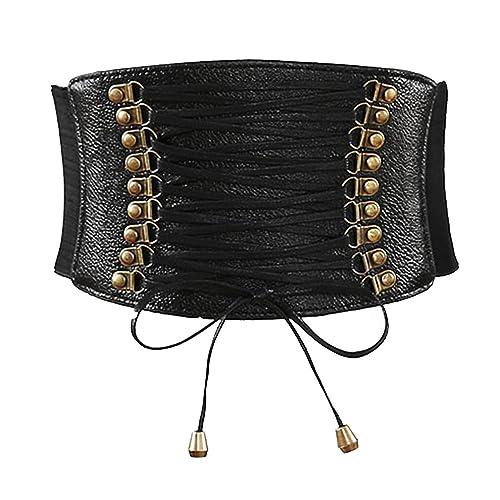 TEERFU - Cinturón - para mujer negro negro