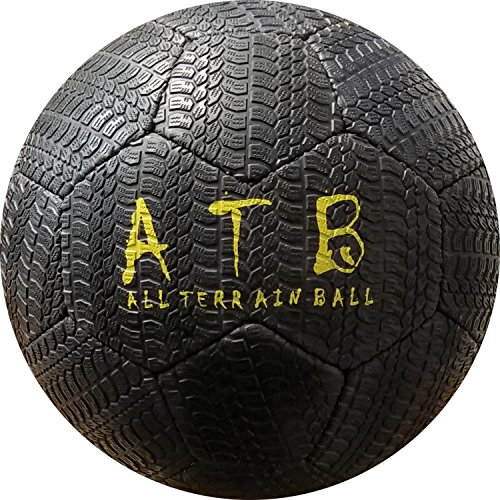 American Challenge All Terrain Outdoor Rubber Soccer Ball (Black, -