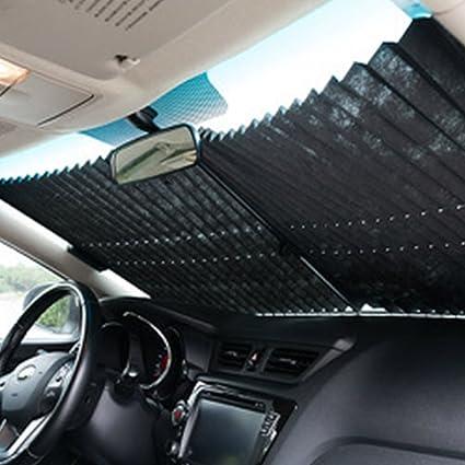 AMAZZANG-Auto Retractable Car Curtain Rear Window Shade Windshield Sunshade  Shield Visor e24506734d2