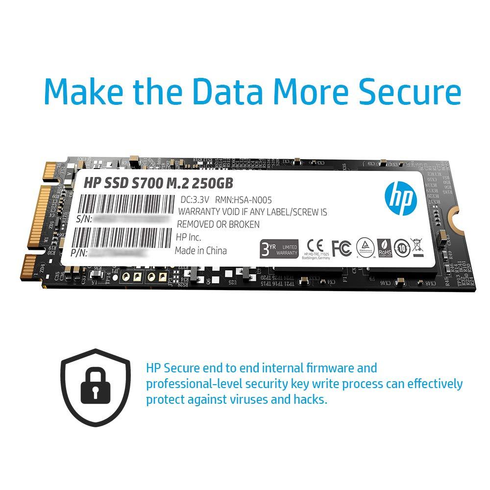 Nero Hewlett Packard 2AP99AA#ABB SSD Interno da 512 GB
