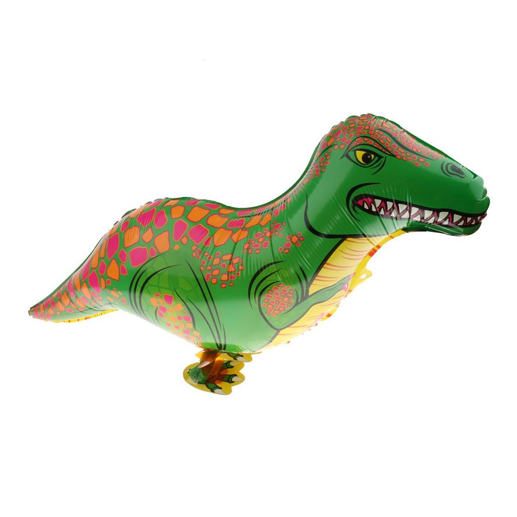 Fun Green Walking Dinosaur Balloon Children Birthday Party Decoration Prop Generic STK0156009207