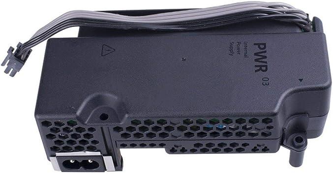 JohnJohnsen Fuente de alimentación Adaptador de CA para Xbox One S (Slim) PA-1131-13MX / N15-120P1A reparación de Piezas de Repuesto Juego (Negro): Amazon.es ...
