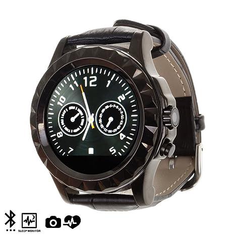 DAM - Smartwatch M18 Black, sincronización con el teléfono ...