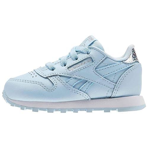 Reebok Classic Leather Pastel, Zapatillas Unisex bebé: Amazon.es: Zapatos y complementos