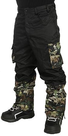 Amazon.com  Grenade Cargo Snowboard Pants Mens Black Camo  Clothing 81c2e827887