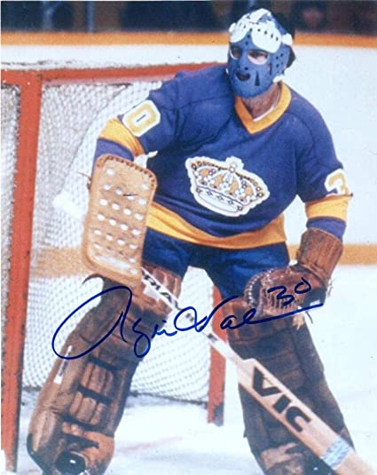 cheap for discount 303da f00af ROGIE VACHON LOS ANGELES KINGS SIGNED AUTOGRAPHED 8X10 PHOTO ...