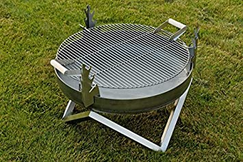 Brasero en acier et barbecue Yanartas - Design Contemporain: Amazon ...